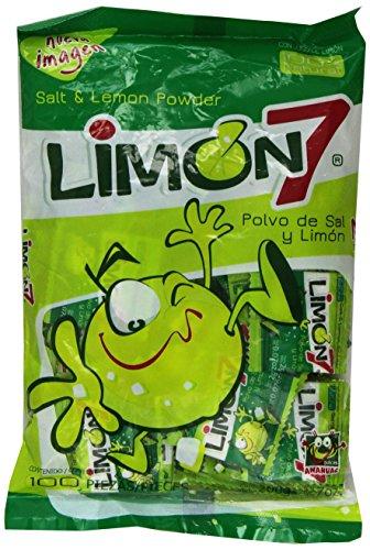 Limon 7 Salt & Lemon Powder Mexican Candy by Anahuac