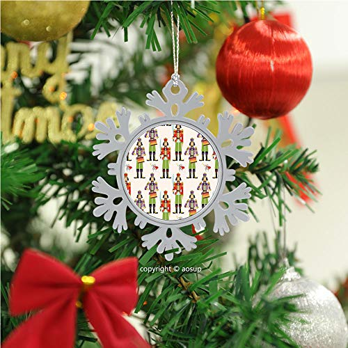SUPNON Christmas Nutcrackers Seamless/Christmas Ornament 2020 Xmas Tree Topper Hanging Decoration Merry Christmas Elk Snowflake Gifts for Home Festival Fantastic Romantic Indoor Decor №IS034177