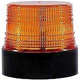 LED Rundumleuchte Gelb 12V Kabellose Magnet Warnleuchte...