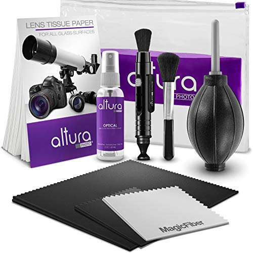 Altura Photo Professional Cleaning Kit for DSLR Cameras and Sensitive Electronics Bundle with 2oz Altura Photo Spray Lens and LCD Cleaner Altura Photo