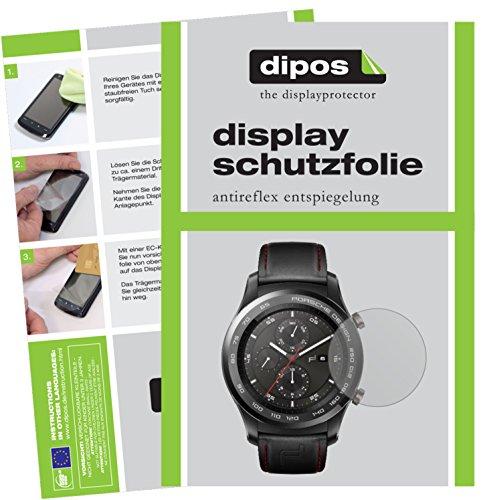 dipos I 6X Schutzfolie matt kompatibel mit Huawei Original Porsche Design Smartwatch P9820 Folie Displayschutzfolie