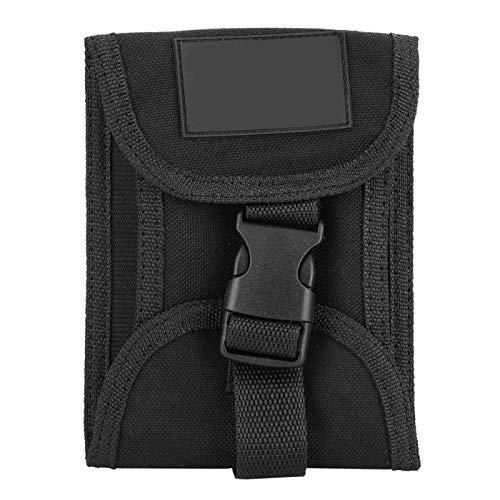 DAUERHAFT - Bolsa de peso de buceo de nailon con revestimiento de buceo (3 kg), color negro