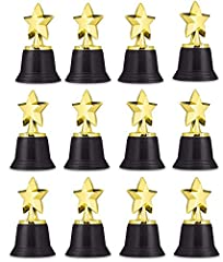 YOU ARE A STAR: Make any person feel special when you hand out these adorable star trophies. Watch those faces shine as they are given these charming trinkets to take home. AND THE WINNER IS…: Award these star trophies to the winner of a race or a co...