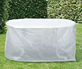 TrendLine Schutzhülle Basic Gartentische 170x140x83 cm Abdeckung Gartenmöbel