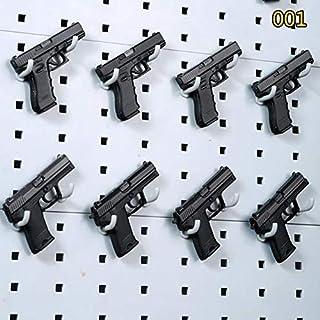 Pistolet Diaplay Rack 2pcs pour Transparent Acrylique Pistolets Titulaire Mod/èle De Pistolet Montrant Pistolet Pr/ésentoir Rack WQ-HUNTING