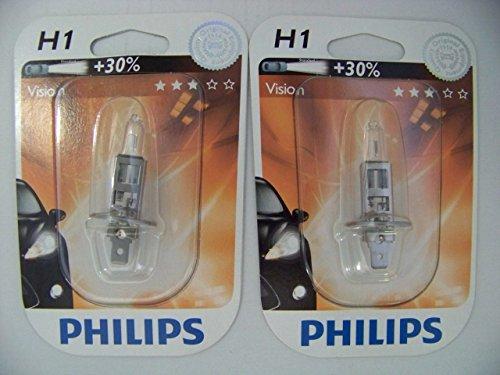PHILIPS 12258PRB1 Vision H1 Lampe de Phare Lot de 2