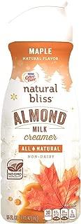 COFFEE MATE NATURAL BLISS Almond Milk Maple All-Natural Liquid Coffee Creamer, 16 Fl. Oz. Bottle | Non-Dairy Creamer