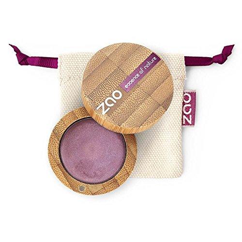 ZAO Cream Eyeshadow 253 amethyst violett lila, cremiger Lidschatten, 'Multi-Touch' als Rouge, Lippenstift, Korrektor, Concealer, Abdeckstift, nachfüllbare Bambus-Dose (bio, vegan, Naturkosmetik) 101253