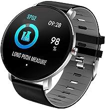 Volledig aanraakscherm IP68 waterdichte multifunctionele sport slimme armband hartslagmeter bloeddruk Smart watch-03