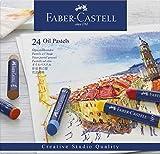 Faber-Castell 127024 Pastelli ad Olio, 24 Pezzi