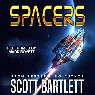 Spacers audiobook cover art