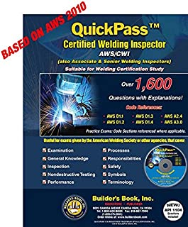 QuickPass Certified Welding Inspector AWS/CWI Study Guide