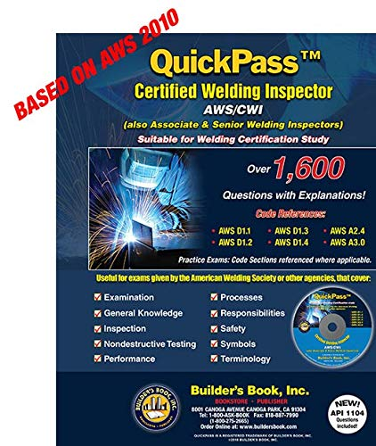 Certified Welding Inspector AWS/CWI QuickPass Study Guide