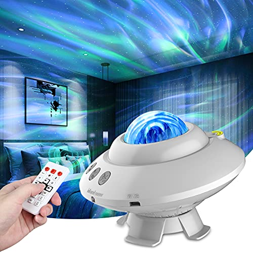 Star Projector,Galaxy Projector,Night Light Projector with Bluetooth Music Speaker & Remote Control ,14 Lighting Colors Sky Lights Projector for Baby Kids Adults Bedroom/Decoration/Festival/Party