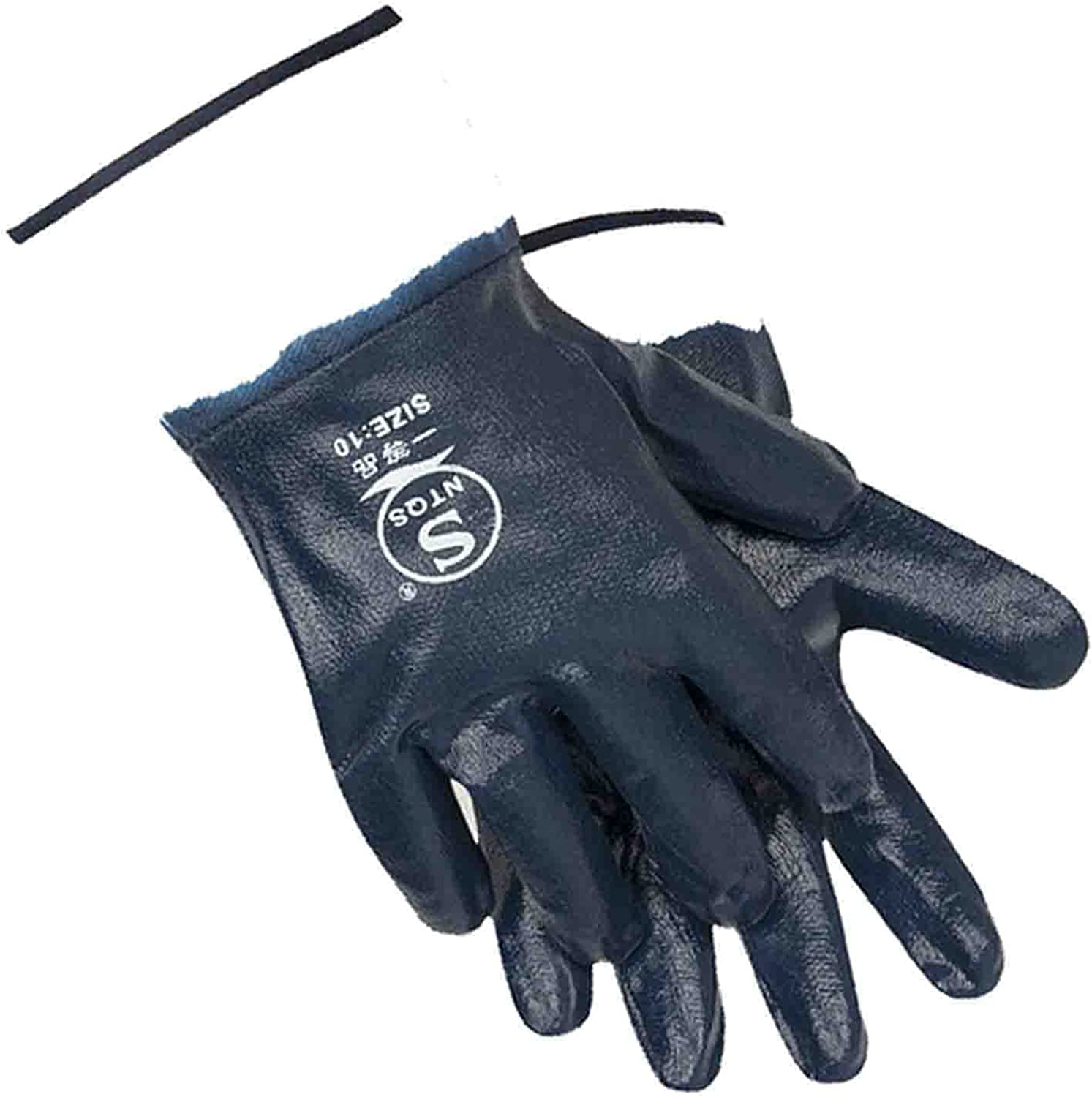 Oil Resistant Year-end annual account Gloves for Men Safe Cuffs Wide Attention brand Petr