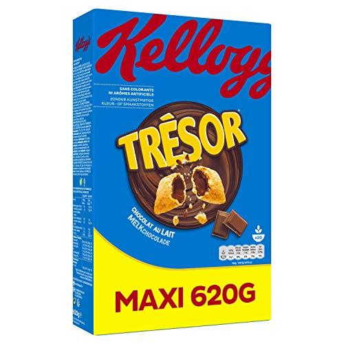 Tresor Céréales Trésor Kellogg s Chocolat au Lait 620 g