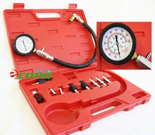 Big Save! Diesel Gas Engine Compression Tester Kit Gauge Auto Motor Fuel Injection Tester