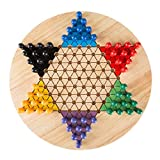 Best Chinese Checkers Game Sets - Chinese Checkers Game Set with 11 inch Wooden Review