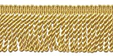 6,3cm Edelstahldraht Fransen Rand, Stil # ef25Farbe: