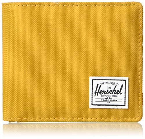 Herschel Herren Roy + Coin XL Zweifalten-Geldbörse, Sanddorn braun, Einheitsgröße