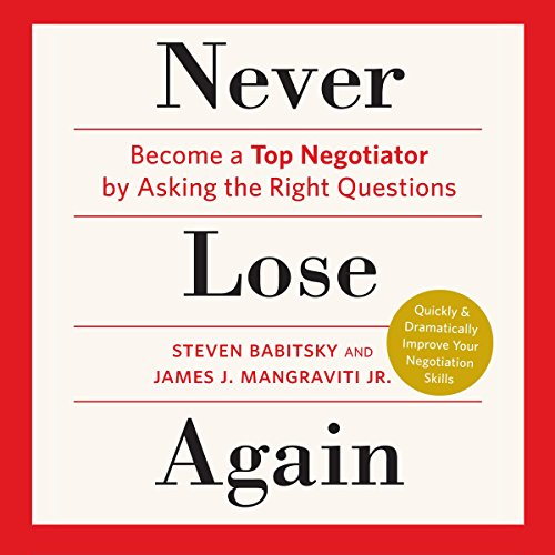 Never Lose Again audiobook cover art