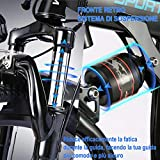 Zoom IMG-2 vivi bicicletta elettrica pieghevole 350w