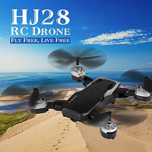 Kedelak HJC HJ28 RC Drone con cámara 1080P WiFi FPV para fotografía aérea Altitud Foto de Gesto / Video Plegable RC Quadcopter