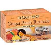 108-Count Bigelow Tea Ginger Peach Turmeric Herbal Tea Bags
