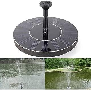 ReeeR Solar Power Floating Water Pump Circulating Oxygen Outdoor Panel Garden Plants Watering Fountain Pool Pond Watering Submersible