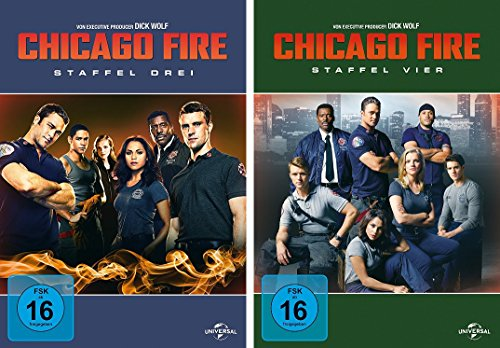 Chicago Fire - Staffel 3+4 (12 DVDs)