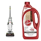 Hoover FloorMate Deluxe Hard Floor Cleaner, FH40160PC - Corded and Hoover Multi-FLOORPLUS 2X Concentrated 32 Oz Hard Floor Cleaner Solution - AH30425 Bundle