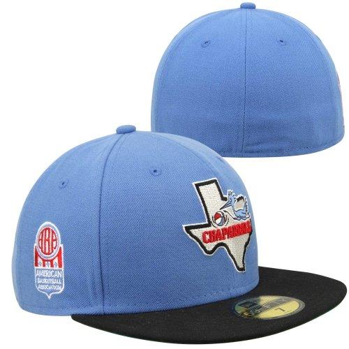 New Era ABA classique Dallas Chaparrals New Era Casquette - Bleu - 7.125