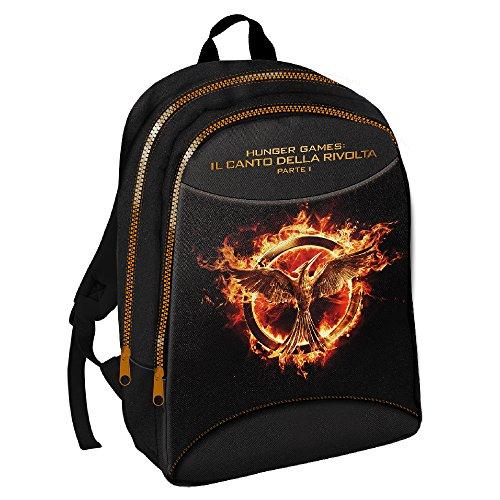 Hunger Games 25849 - Zaino Double, Nero