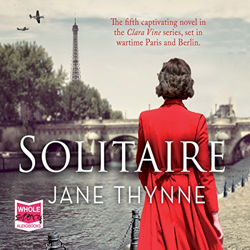 Solitaire audiobook cover art