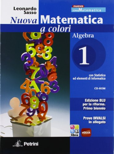 N.MAT.COL.BLU ALG.1+Q+INV +CD: Vol. 1