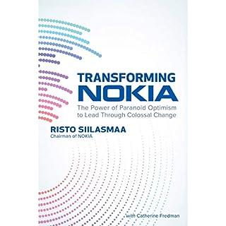 Transforming Nokia audiobook cover art