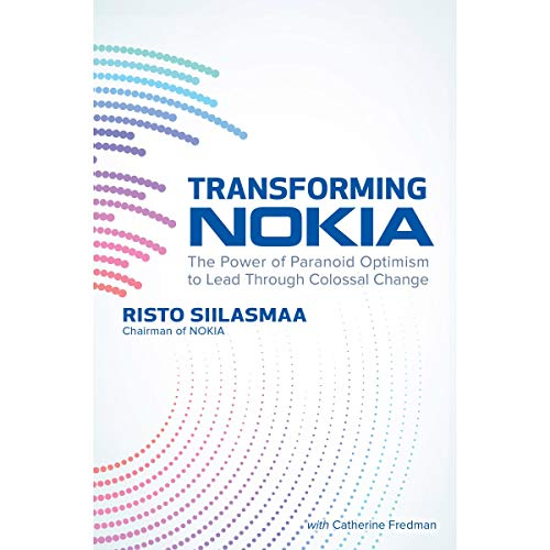 Transforming Nokia audiobook cover art
