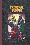 Criminal Bundle: Free Fire Lined Notebook Black 6*9' Dimension