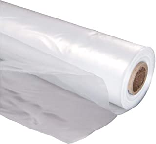 A&A Green Store Greenhouse Plastic 4 Year 6 mil UV Resistant Clear Polyethylene Film (16' x 25')