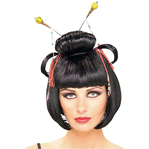 Geisha Asian Lady Costume Wig