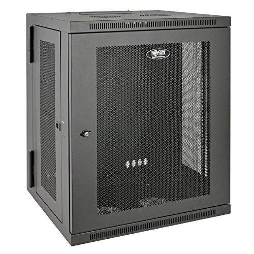 "Tripp Lite 15U Wall Mount Rack Enclosure Server Cabinet, Hinged, 20.5"" Deep, Switch-Depth (SRW15US)"
