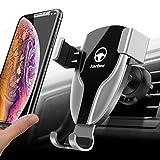Yarber 【New Version】 Handyhalter Fürs Auto Lüftung KFZ Handyhalterung Auto Schwerkraft Lüftung Universal kompätibal Für Xs Max/Xs/XR/X/8/7/6, Samsung S9/8+, S9/8/7/6/5/4, Huawei usw.