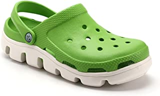 DSFKS Unisex Lightweight Garden Clog Water Slip On Shoes (K,39)