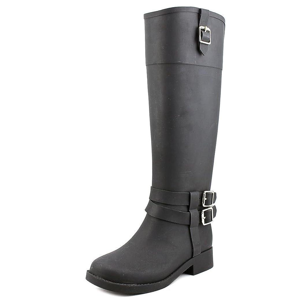 認知敬意執着INC International Concepts Womens Federica Closed Toe Rainboots, Black, Size 11
