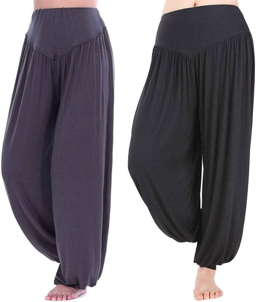 Hoerev Low price Brand Super Soft New product! New type Modal Harem Spandex Pilates Pants Yoga