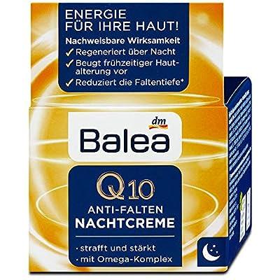 Balea Night Cream Q10 Anti-Wrinkle, 50 ml