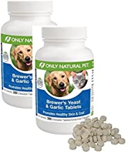 Only Natural Pet Brewer's Yeast & Garlic - Safety Sealed 2 Pack