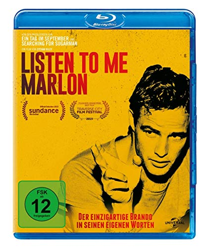Listen To Me Marlon [Blu-ray]