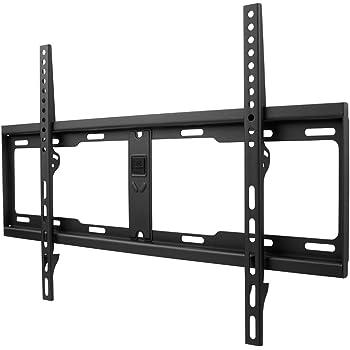 """One For All - WM4611, Soporte de pared para TV de 32 a 84"""", fijo, peso máx. 100kg, para todo tipo de TVs (LED, LCD y plasma), negro: Amazon.es: Electrónica"""