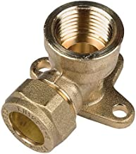 Parker 0109 15 21-pk20 Compression Fitting Brass Pack of 20 R1//2 and 15 mm BSPT Male Stud Elbow Fixed 90 Degree Thread